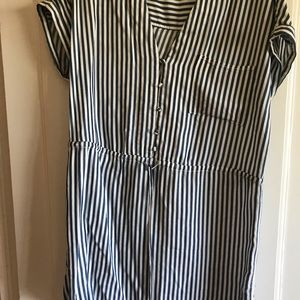 Paige blue striped summer dress